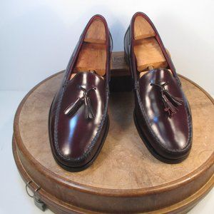 Cole Haan Burgundy Tassel Loafers size 11.5 M